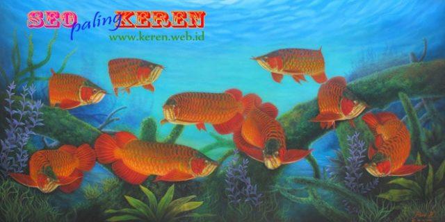 Budidaya Ikan Arwana di Kalimantan Barat
