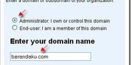 Membuat Email dengan Domain Sendiri dengan Google Apps
