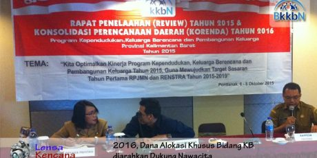 Review Program KKBPK Provinsi Kalimantan Barat