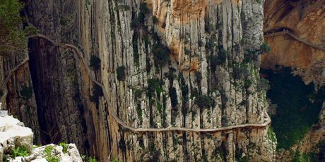 Caminito Spanyol del rey jalan paling berbahaya di dunia