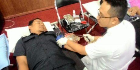 HUT RRI ke-70: Galang Aksi Donor Darah di Kota Pontianak