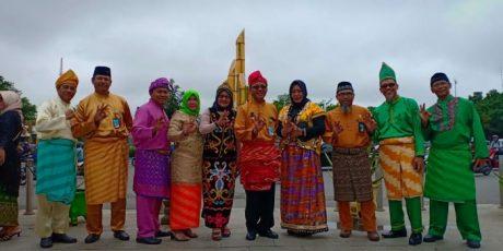 Flash Mob di Tugu Digulis Universitas Tanjungpura