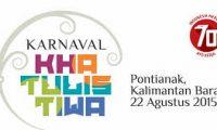 Semarak Karnaval Khatulistiwa dalam Rangka HUT RI ke-70 di Pontianak
