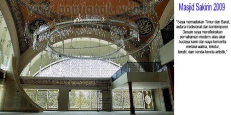 Wanita Pertama yang mendesain Masjid Sakirin
