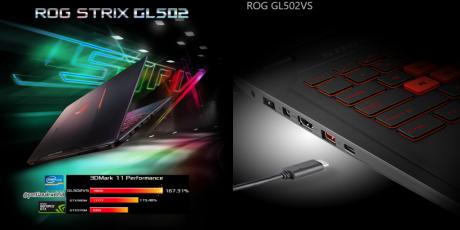 ASUS Hadirkan Generasi Terbaru Notebook ROG Strix GL502VS