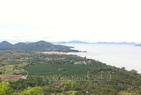 Panorama Keindahan Alam dari Tanjung Bajau menuju ke Rindu Alam