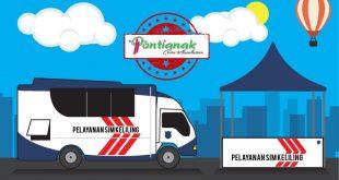 Jadwal Pelayanan SIM Keliling POLRESTA PONTIANAK 2019